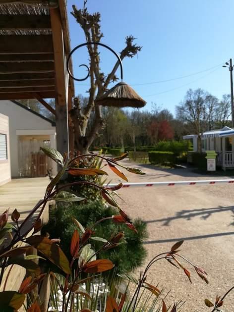 Camping La Poterie  Centre Val de Loire  Entrée